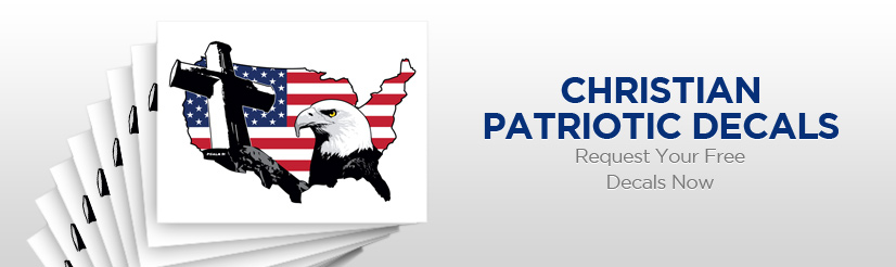 Christian Patriotic Decals - Request Your Free Decals Now