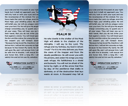 Psalm 91 Cards